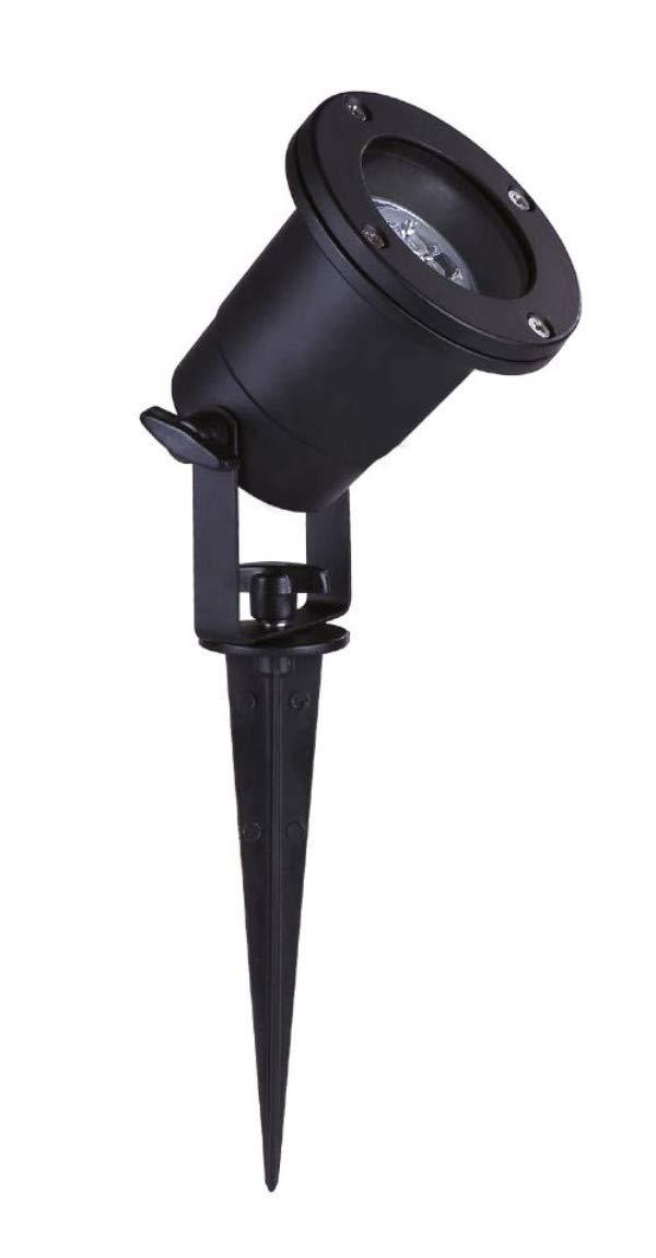 TS Strahler 46-29412  GU10 mit Erdspieß schwarz NoName GU 10