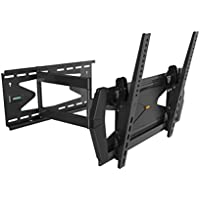 Monoprice Full Motion TV Wall Mount Bracket with Anti-Theft Feature, UL Certified (Max 88 lbs, 32~55 inch) NO LOGO