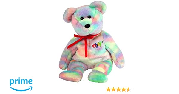 ee5380ef692 Amazon.com  TY Beanie Baby - BIDDER the Bear (Ebay   TY Credit Card  Exclusive)  Toy   Toys   Games