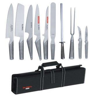 Juego completo de 10 cuchillos Global, 10 artículos ...