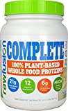 SAN Nutrition RawFusion Complete Plant-Based Whole Food Meal Replacement Powder, Vanilla Bean, 2 Pounds