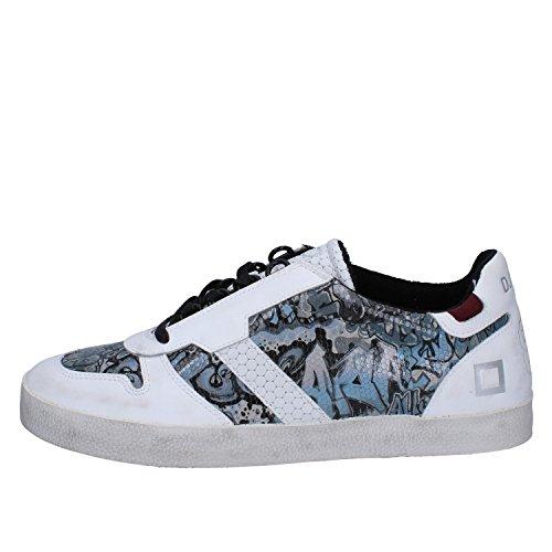 D.A.T.E. Date Sneakers Hombre 42 EU Blanco Gris Cuero