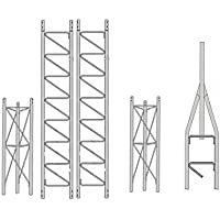 ROHN 25SS035 25G Series 35 Self Supporting Tower Kit