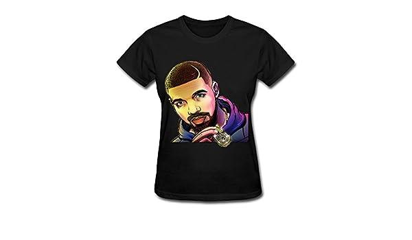 d11749044d6 Amazon.com  Singer Drake Summer Sixteen Tour 2016 T Shirt For Women Black   Clothing