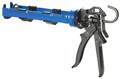 COX 41004-2T Ascot 10.3-Ounce Cartridge 26:1 Mechanical Advantage Cradle Manual Caulk Gun from COX