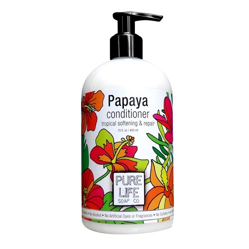 Pure Life Soap Co. Papaya Conditioner - 15 Ounces