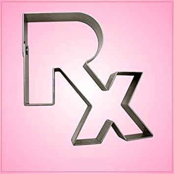 c2e2b949999 Amazon.com: RX Cookie Cutter 4 inches by 4-1/2 inches: Kitchen & Dining