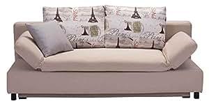 Obsolete - Zuo Modern Serenity Sleeper Sofa, Beige