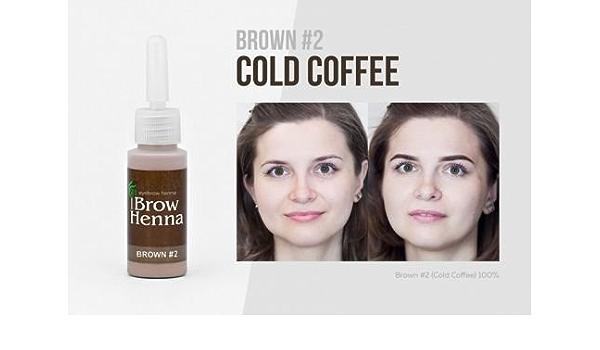 BH Brow Henna vial – Cejas Color (Tattoo Efecto) Mantiene hasta 6 semanas (para cosméticos de Studios prof. Uso) los éxitos de venta en su Beauty ...