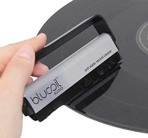 Vinyl Static Anti - Blucoil Audio Anti-Static Carbon Fiber Vinyl LP Record Brush