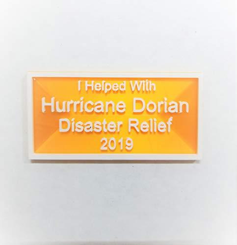 Hurricane Dorian Fund Raising Refrigerator Magnet