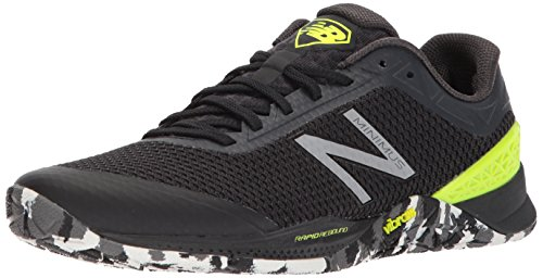 New Balance Men's 40v1 Minimus Training Shoe, Black, 8 D US