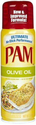 Pam Olive Oil Cooking Spray, 5 oz