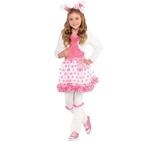 Bunny Honey Child Costume - AMSCAN Honey Bunny Halloween Costume for Girls, Small, with Included Accessories