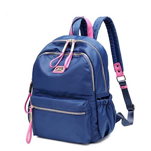 La per Olprkgdg Zaino zaini colore scuola blu dimensione Blu grande Oxford capacità Escolar 60IwZr0q