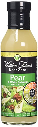 Walden Farms Calorie Free Dressing, Pear/White Balsamic, 12 ()