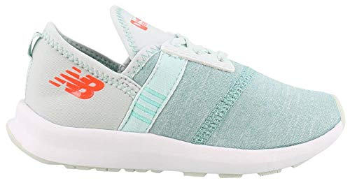 New Balance Girls' Nergize V1 FuelCore Cross Trainer Ocean air 8 M US Toddler