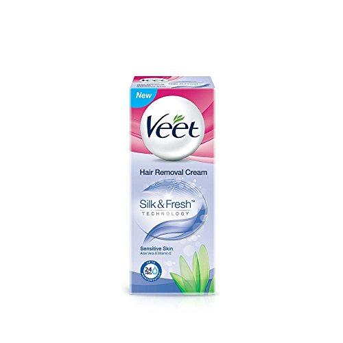 Veet Hair Removal Cream, Sensitive Cream - 25 g
