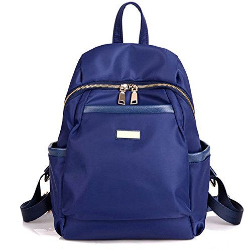 t Backpack Bag - Top Handle Rucksack Lightweight Durable Casual Fashion School Bag Purse for Womens Girls (Blue) ()