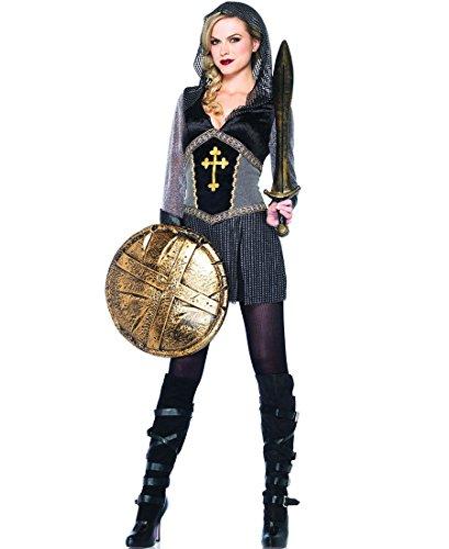 [Leg Avenue Womens Joan of Arc Adult Costume (Small)] (Joan Of Arc Costume Halloween)