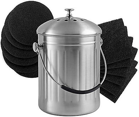 steadyuf Filtros De Recambio para Cubo De Compost Cooler ...