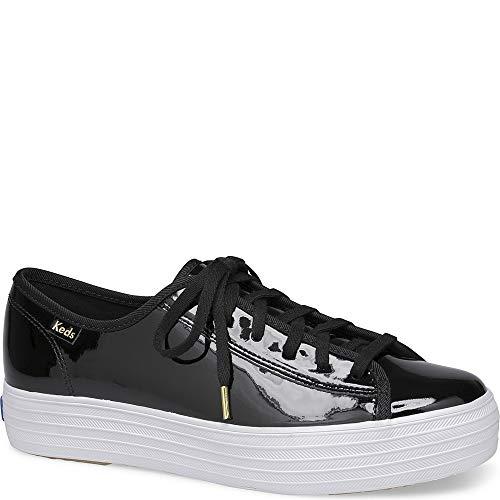 Sneakers Patent Leather (Keds Triple Kick Patent Women 8)