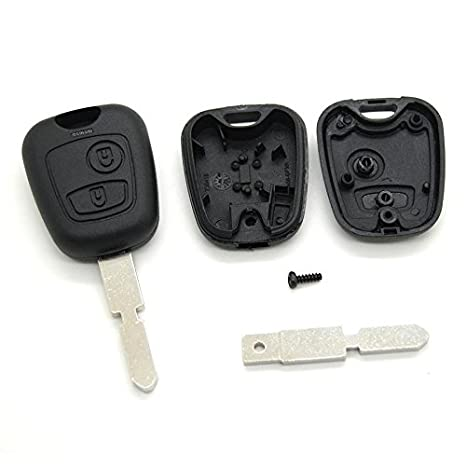 Mando a distancia para llave de coche Peugeot 406 806 hoja en blanco