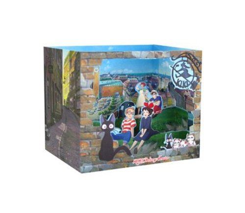 Studio Ghibli Characters Dimensional Cards Diorama 4 Types Limited Edition - My Neighbor Totoro, Kiki's Delivery Service, Spirited Away, Ponyo on the Cliff By the Sea (Kiki's Delivery Service)