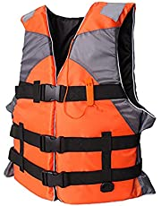 aternee Life Jacket Watersport Ski Buoyancy Aid Boating Safety Life Vest, Adjustable Safety Swimming Float Jacket Buoyancy Aids for Kayaking, Snorkelling