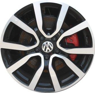 2006-2016 - VOLKSWAGEN - GOLF-GTI - 18x7.5 - 5-112 - 12 SPOKE - FACTORY OEM WHEEL RIM-REMANUFACTURED (Volkswagen Gti Rims compare prices)