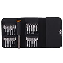 25 in 1 Screwdriver Kit, Precision Screwdriver Set Torque Repair opening Tool Kit for Cell Phone, Watch, Laptop, Camera, PC