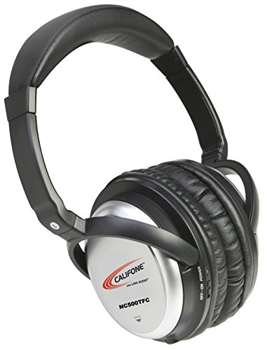Califone NC500TFC Active Noise Cancelling Headphones with Storage Case For Sale