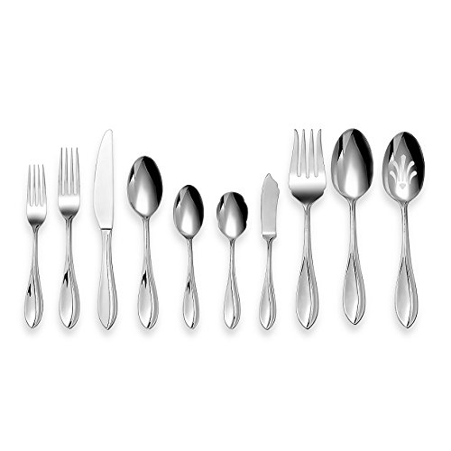 Cuisinart Carbay 45 Piece Stainless Flatware