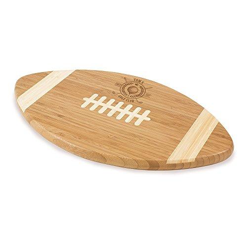Golf Club Personalized Football Cutting Board | BBQ ()