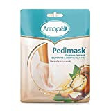 Amope Pedimask Foot Sock Mask, Macadamia Oil Essence, 1 Pack