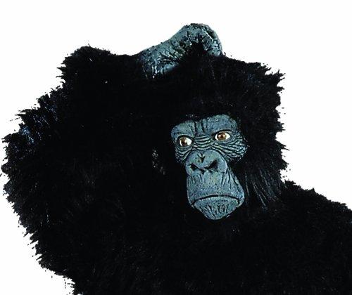 Gorilla Halloween Mask (RG Costumes Men's Latex Gorilla Mask, Black, X-Large)
