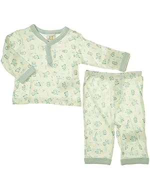 ABSORBA Baby-Boys Newborn 2 Piece Loungewear Set