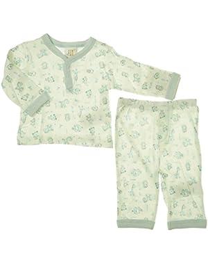ABSORBA Baby-Boys Newborn 2 Piece Loungewear Set
