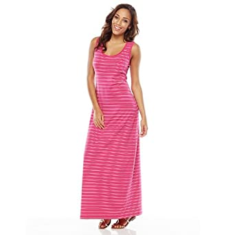9fd5badd43e SONOMA life + style Striped Maxi Dress - Women s at Amazon Women s ...
