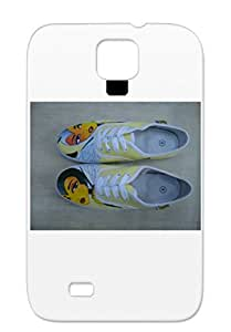 Holidays Occasions Christmas Slamming TPU Gray Protective Case For Sumsang Galaxy S4 Beazzies Shoes.