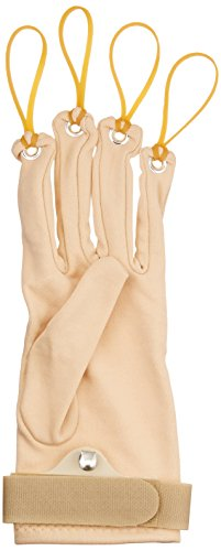 Sammons Preston Traction Exercise Glove, Hand and Finger Strengthening Glove for Joint Flexion, Hand Exerciser for Therapy, Recovery, and Rehabilitation, Left, Large/Extra Large by Sammons Preston