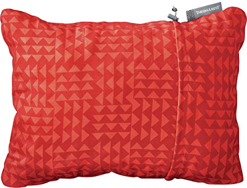 Therm-a-Rest Compressible Travel Pillow for Camping, Backpacking, Airplanes and Road Trips,...
