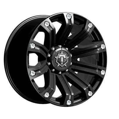 TIS 534B Wheel with Black Finish (18x9''/6x5.50'', +18mm Offset)