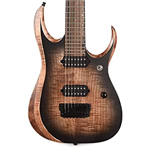 IBANEZ Axion Label RGD 7 String – Antique Brown Stained Burst (RGD71AL-ANB)