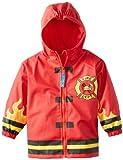 Stephen Joseph Rain Coat, Fire Truck, 6X