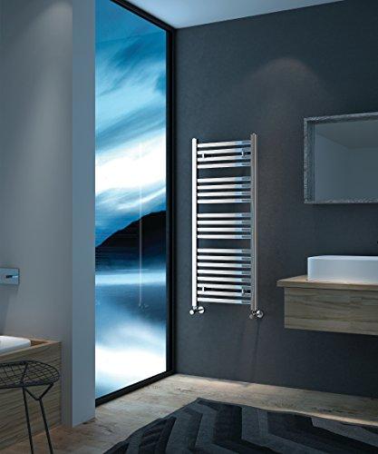 Electric Towel Warmer for Bathroom Wall Mount Heated Rail Towel & Space Heater R1531-300. CDM