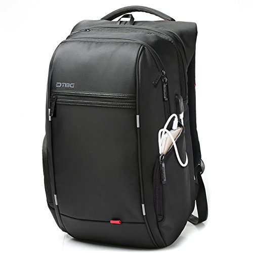 Laptop Backpack with USB Charging Port,DTBG 17 Inch Stylish
