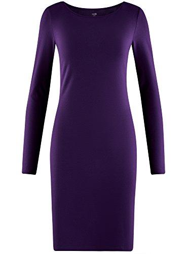 Maille Moulante Violet Ultra Robe Femme 8800n en oodji qw1ATIw