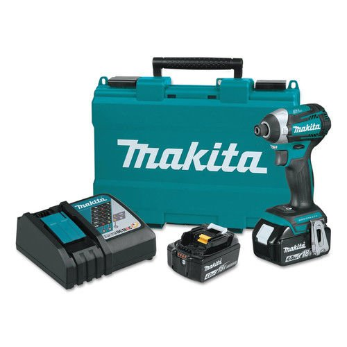 Makita XDT14M 18V LXT Lithium-Ion Brushless Cordless Quick-Shift Mode 3-Speed Impact Driver Kit (4.0Ah), (Discontinued by Manufacturer)