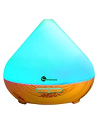Essential Oil Diffuser, TaoTronics 300ml Aromatherapy Diffuser with Wood Grain, Zen Style, Cool Mist and 7 Colors ( Ultrasonic Aroma Humidifier, Low Water Auto Shut-off, Up to 6 Hours Timer) BOBEBE Online Baby Store From New York to Miami and Los Angeles